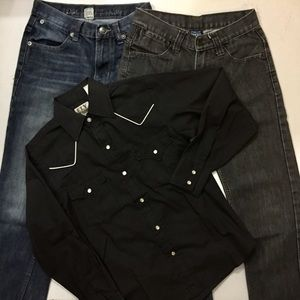 Boy's Size M Jeans Bundle